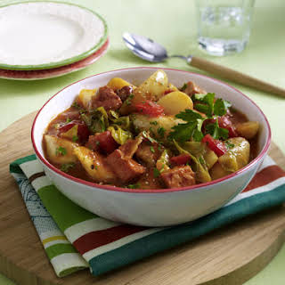 Spicy Pork and Potato Stew.