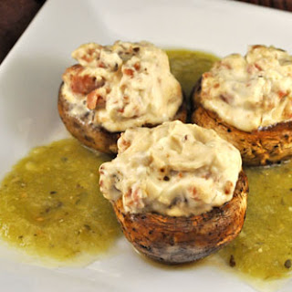 Mushrooms Stuffed with Mascarpone and Bacon Recipe
