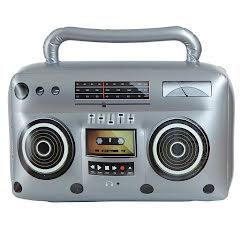 Uppblåsbar radio
