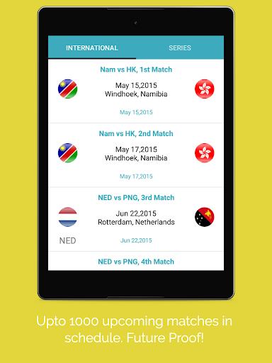 Live Cricket Score 2018 2.2 screenshots 7