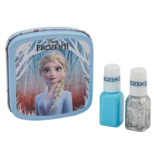 Frozen 2 Nagellack Metallbox - Elsa