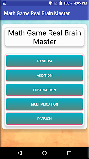 Math Game Real Brain Master  screenshots EasyGameCheats.pro 4