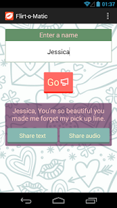 Flirt-o-matic screenshot 1