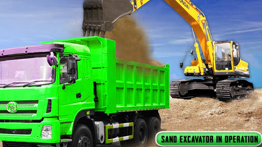 Sand Excavator Truck Driving Rescue Simulator game 4.2 de.gamequotes.net 1