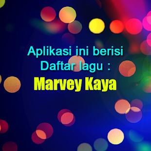 Lagu Ambon Marvey Kaya - náhled
