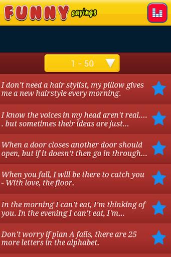 玩免費程式庫與試用程式APP 下載Funny Sayings ever app不用錢 硬是要APP