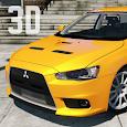 Evo X Driving Simulator 3D