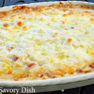 Cheesy Ham & Hashbrown Casserole.