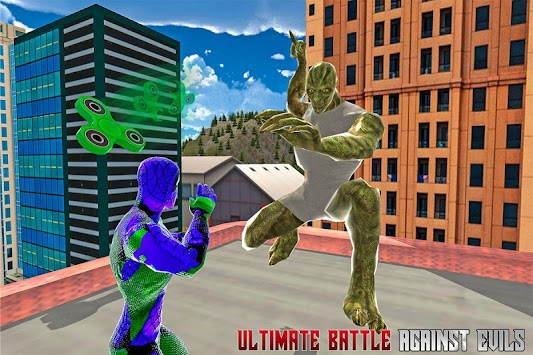 Super Spinner Spider Battle apk screenshot