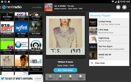 NextRadio - Free Live FM Radio Screenshot 12
