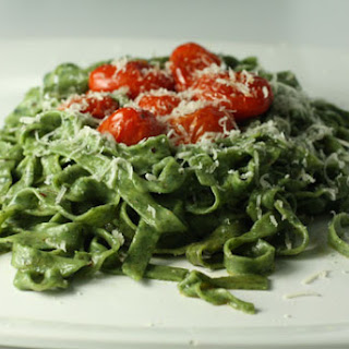 Spinach Pasta.