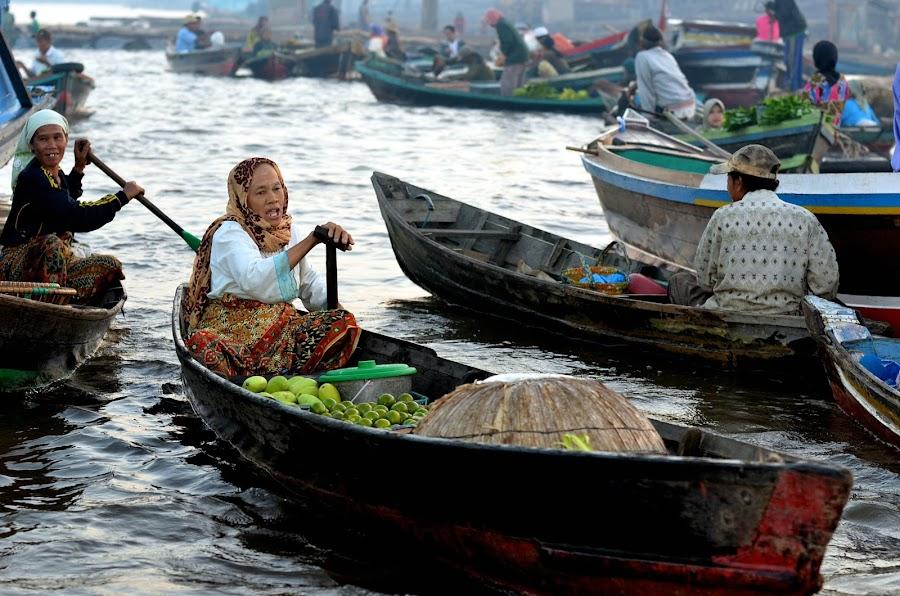 Rowing for life  by Imanuel Hendi Hendom - People Portraits of Women