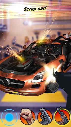 Crash Test Luxury Car 3D