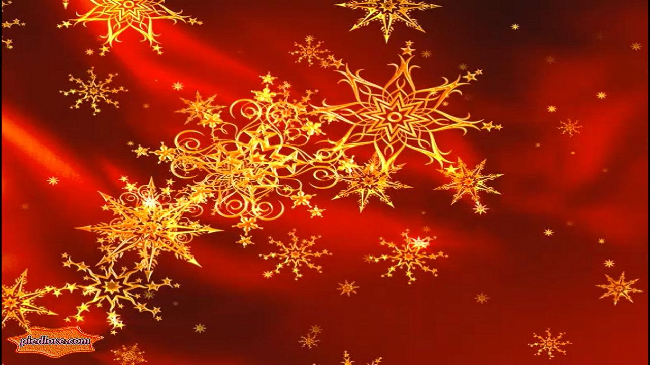Golden Xmas Stars Whirl 3D- screenshot