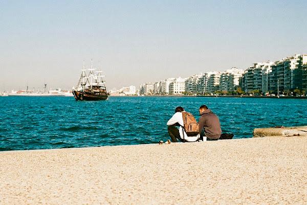 Due amici a Salonicco di fabiomartinellix