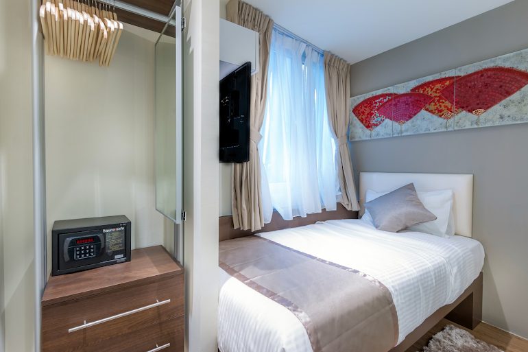 Bedroom at South Bridge Apartments, Orchard Road