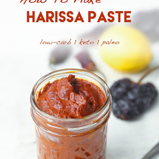 How To Make Harissa Paste.