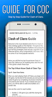 Guide For Clash Of Clans (New) - náhled