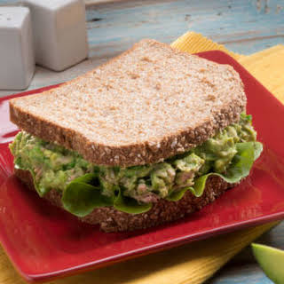 Tuna Avocado Sandwich.