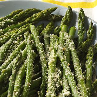 Garlic Parmesan Asparagus.