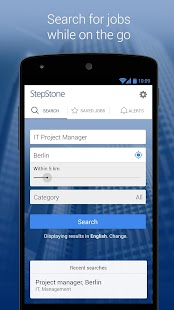 StepStone Job App- screenshot thumbnail