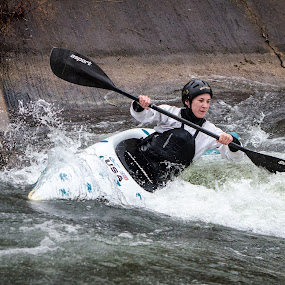 Dickerson Slalom by Adam Lowe - Sports & Fitness Watersports ( dickerson, maryland, places, activities, whitewater, usa, kayaking )