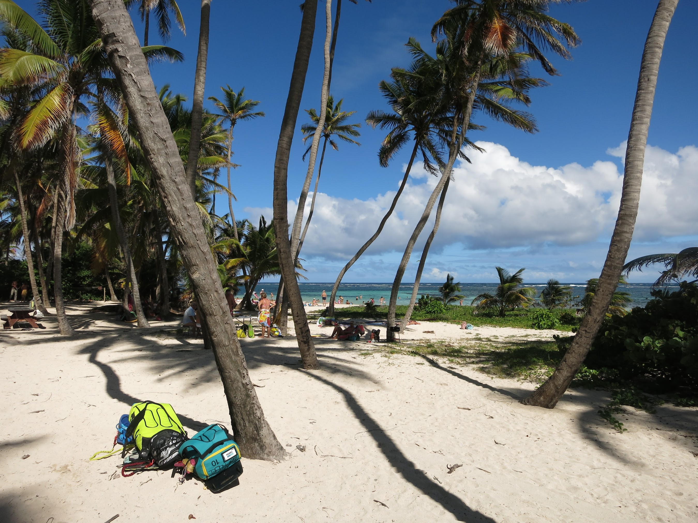 Nice beach hang out at Cap Chevalier, Martinique