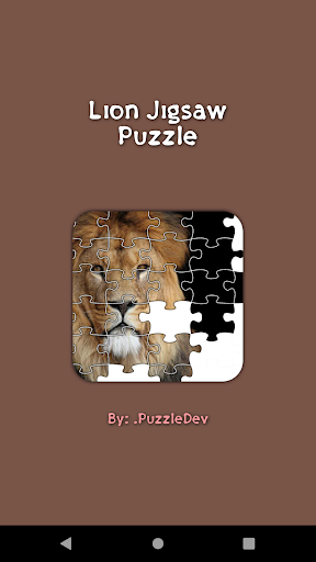 Lion Game Jigsaw Puzzle  screenshots 1