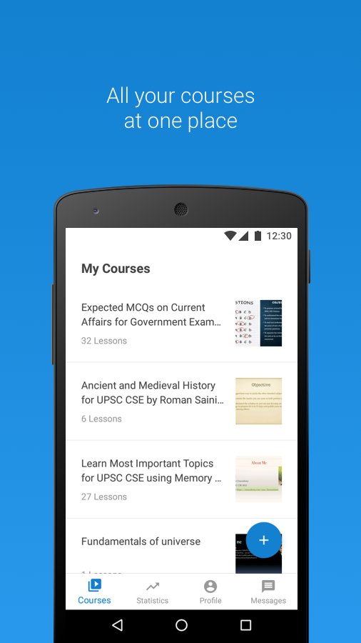 Unacademy Educator App- screenshot