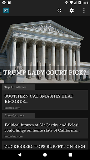 News Today- An app to read Drudge Report Bulletins by