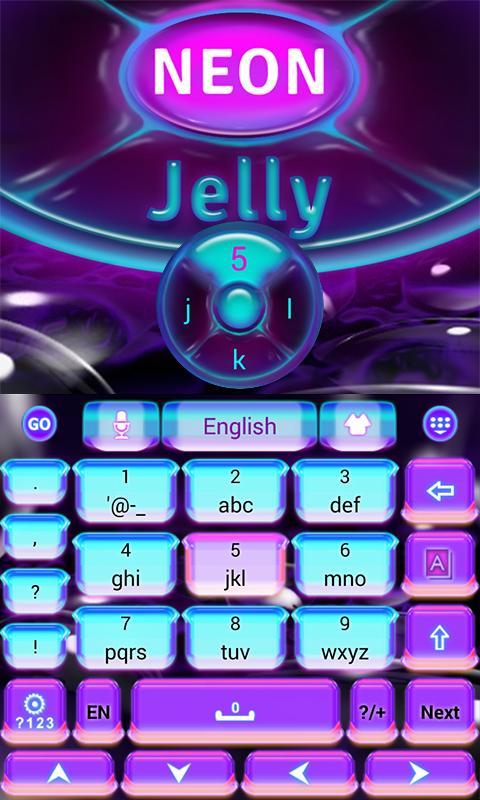 Neon-Jelly-GO-Keyboard-Theme 8
