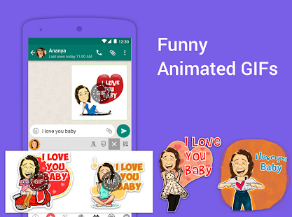 App Bobble Indic Keyboard ❤️ Ғ◎И†Ⴝ, GIFs & Themes APK for Windows Phone