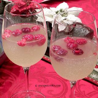 Raspberry Limoncello Prosecco.