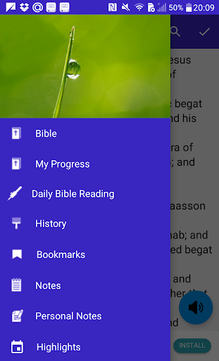 Bible matthew of the audio book