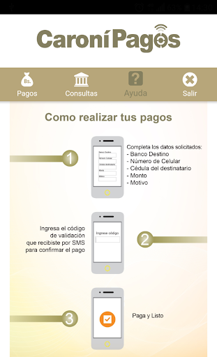 Caronu00ed Pagos Banco Caronu00ed, C.A. Banco Universal 1.5.3 screenshots 10
