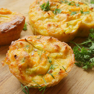Easy Loaded Omelet Muffins.