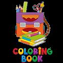School Kid Coloring Book icon