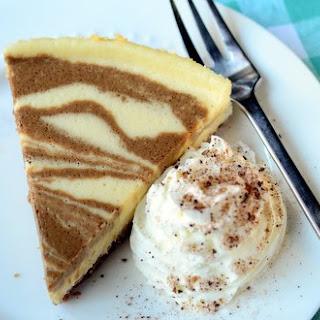 Coffee-Swirl Cheesecake.