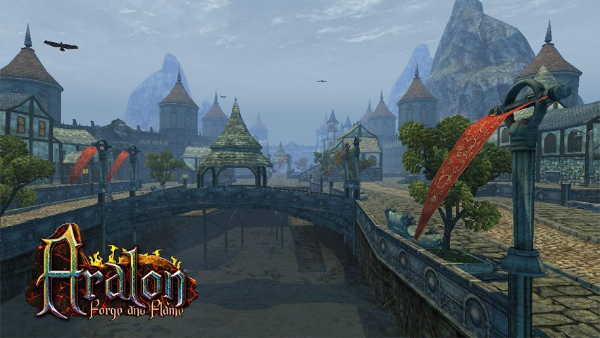 android Aralon: Forge and Flame 3d RPG Screenshot 0