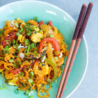 Healthy Stir-Fried Singapore (Carrot) Noodles.