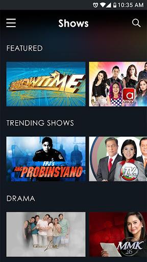 TFC: Watch Pinoy TV & Movies 11.5.2 screenshots 2