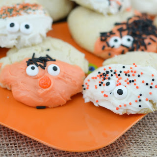 Spooky Sugar Cookies