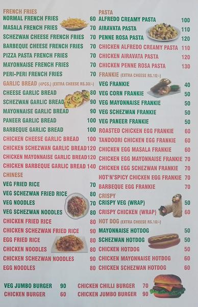 Mamma's Food  menu 2