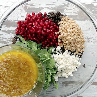 POMEGRANATE WILD RICE SALAD