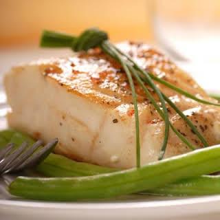 Simple Pan-Fried Alaskan Cod.