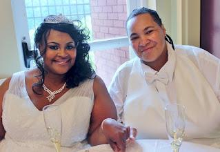 Photo: Lesbian Wedding Greenville, SC http://WeddingWoman.net