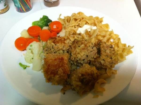 My Mom Used To Make These Using Ground Beef And Beef Flavored Rice-a-roni. I Made Them For My Kids And Still Make Them. Decided To Try Ground Turkey And Low Sodium Chicken Rice-a-roni. Delish! And Ground Turkey Will Be Welcome In My Kitchen Alot More. :)