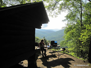 Photo: Lean-to view at Coolidge State Park by Charlie Spina
