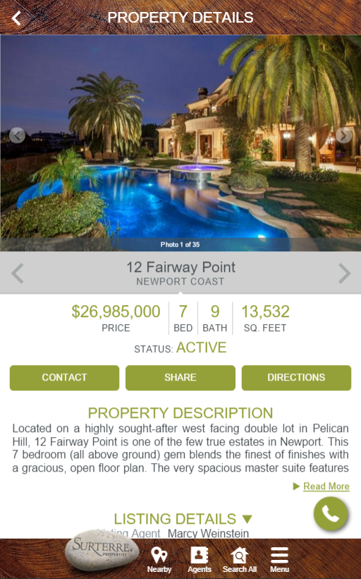 Surterre Properties- screenshot