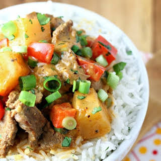Beef Pineapple Curry.